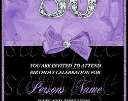 diamond invitation etsy