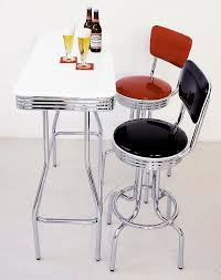 Retro Bar Table A Gallery Rakuten Global Market Image Of 60 S American Cafe A