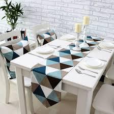 aliexpress buy simple modern geometric dining table runner