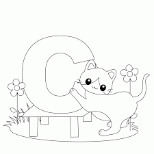 letter c coloring pages for toddlers