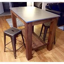 rustic kitchen island table wonderful west elm kitchen island also rustic bar table w 2 crate