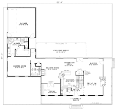 southern style house plan 3 beds 2 50 baths 3060 sq ft plan 17 546
