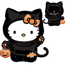 balloons queen halloween hello kitty 16212