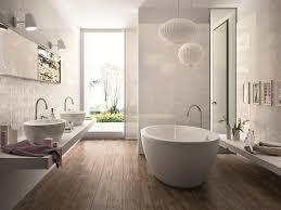bathroom mid sized minimalist bathroom dark hardwood floors