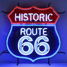 texas tech neon light historic route 66 neon sign vintage sign shak