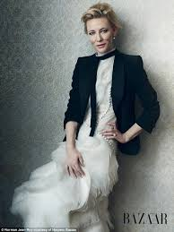 cate blanchett is preened to perfection in smouldering photoshoot