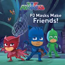 pj masks friends book cala spinner style guide