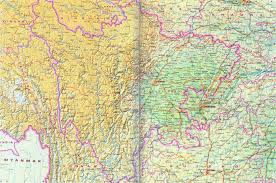 Map Of China Rivers by Sichuan Map Map Of Sichuan China China Travel Map