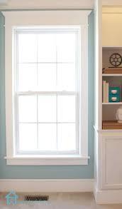 contemporary window trim