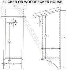 Cool Bird House Plans Flicker Bird House Plans Vdomisad Info Vdomisad Info
