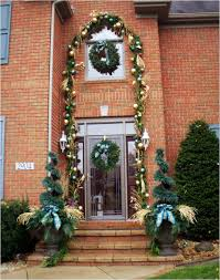 Christmas Outdoor Entryway Decorations by Entryway Christmas Decorations Christmas Decor For The Entryway