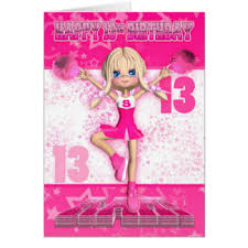 13th birthday cards u0026 invitations zazzle co uk