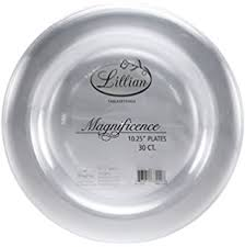 clear plastic plates k signature collection 50 count plastic plate