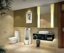 great contemporary small bathroom design taking rectangular white