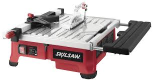 Skil Flooring Saw Home Depot by Skil 3550 02 7 Inch Wet Tile Saw With Hydrolock Water Containment