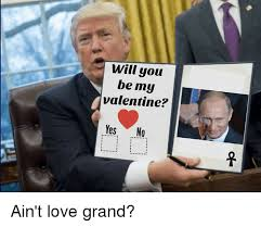 Will You Be My Valentine Meme - will you be my valentine yes no ain t love grand meme on me me