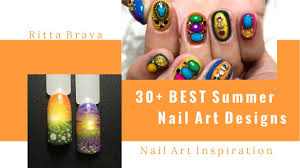 30 best summer nail art ideas awesome nail art for summer 2017