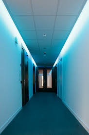 Hallway Lighting Ideas by Creative Blue False Ceiling Lamps For Modern Hallway Lighting