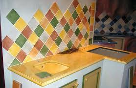 carrelage cuisine provencale photos carrelage mural cuisine provencale complet jaune bleu daccoration