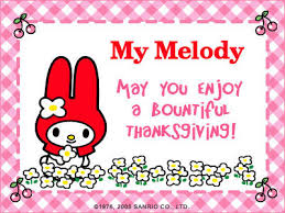 my melody images thanksgiving e card wallpaper and background