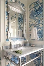 wallpapered bathrooms ideas pin by jenn b on bathroom ideas and decor powder
