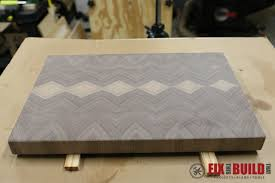 Diy End Grain End Table How To Make An End Grain Cutting Board Fixthisbuildthat