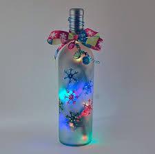 Wine Bottles With Lights 62 Best Lighted Wine Bottles Images On Pinterest Lighted Wine