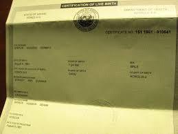 example birth certificates for your passport passportsusa com