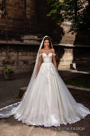crystal design 2016 wedding dresses chapel train verona and