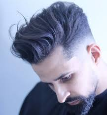 joshlamonaca low skin fade haircut with long hair on top