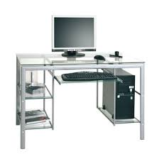 verre pour bureau conforama bureau en verre maison design wiblia com