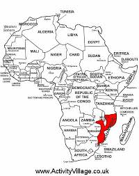 mozambique facts and printables for kids