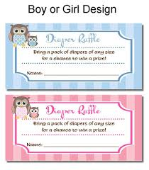 raffle baby shower owl baby shower raffle tickets