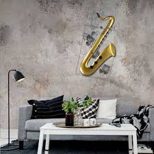 best and cheap yellow tooarts saxophone hanging ornament home
