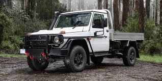 mercedes benz g300 cdi pickup launched in australia starts from