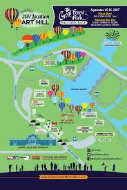 Forest Park Map Forest Park Balloon Race Moves To Art Hill Cbs St Louis