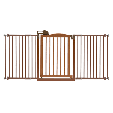 Extra Wide Pressure Mounted Baby Gate Pet Gate 60 Wide