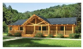 single level homes log home floorplan swan valley the original lincoln logs