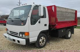 2001 isuzu npr dump truck item aw9819 sold december 17