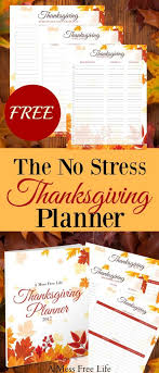 the no stress thanksgiving planner best planner for turkey day