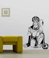 trends on wall pvc lord hanuman wall sticker buy trends on