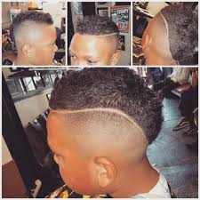 haircut done by ben the barber this is a mohawk fade with the hard