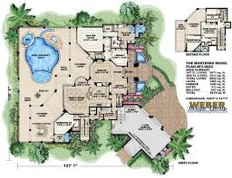 mediterranean house plans with pool crafty design 3 monterro plan