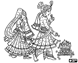 hindu coloring pages getcoloringpages