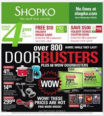 walmart ad thanksgiving day shopko black friday 2017 ads deals and sales