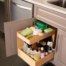 kitchen sink cabinet tray kitchen shelfgenie