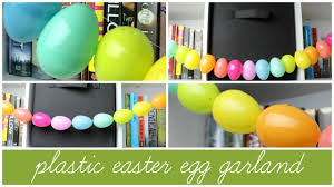 Decorate Easter Eggs Youtube by Diy Plastic Easter Egg Garland Allie Young Youtube