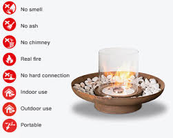 Ethanol Fire Pit by Bio Ethanol Fire Pit For Outdoors Tondo Commerce Planika