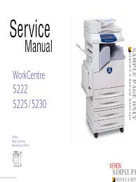 xerox workcentre 5222 5225 5230 service manual download pdf file