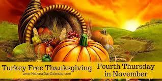 turkey free thanksgiving fourth thursday in november national